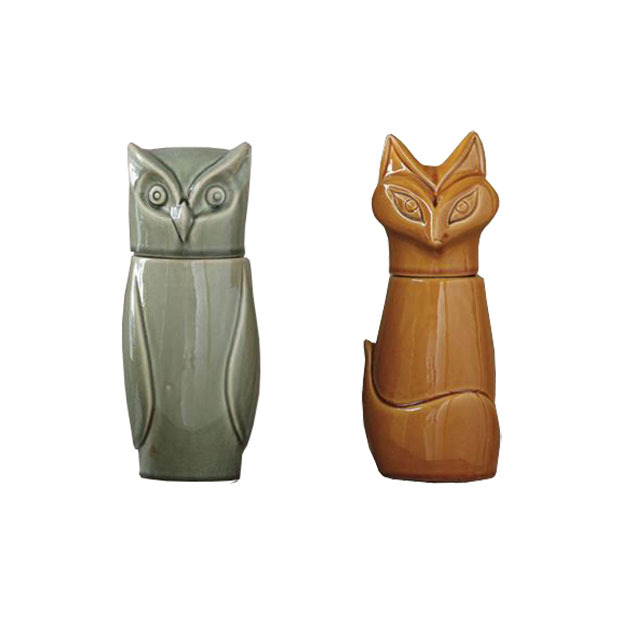 PcdK5vQvzI_Retro_Owl_Fox_Jars0